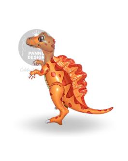 Spinosaurus Foil Balloon Orange