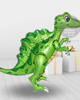 Spinosaurus Foil Balloon Green