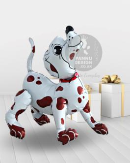 Spotty Dog Foil Balloon