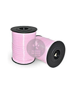 Pink Curling Ribbon