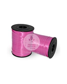 Plain Hot Pink Curling Ribbons