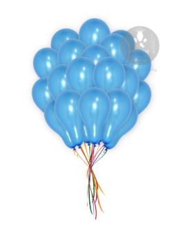 Blue metallic Balloons