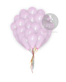 Plain Light Pink Latex Balloons 5″ Inch
