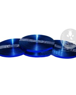 Blue Metallic Ribbon