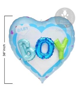 Heart Shape Foil Balloon 32″inch