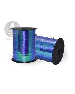 Blue Iridescent Ribbon