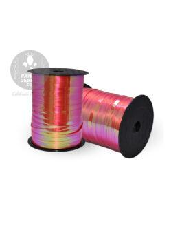 Red Iridescent Ribbon