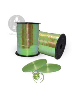 Green Iridescent Ribbon