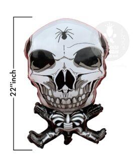 Skeleton Halloween Foil Balloon 22″inch