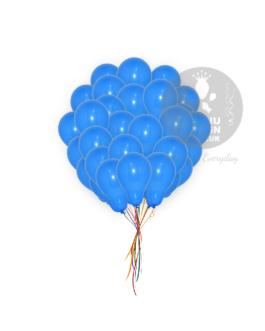 Plain Blue Latex Balloons