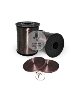Chocolate brown Curling Ribbon