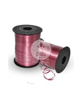 Plain Burgundy Curling Ribbons