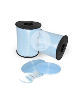 Plain Light Blue Curling Ribbons
