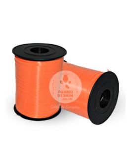 Orange Plain Curling Ribbons