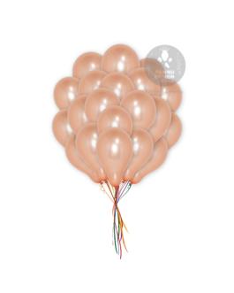 Rose Gold Metallic Balloons
