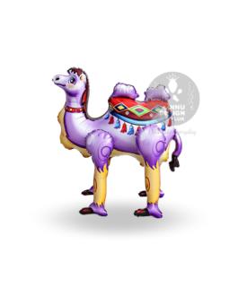 Camel Foil Balloon Purple
