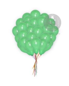 Plain Green Latex Balloons