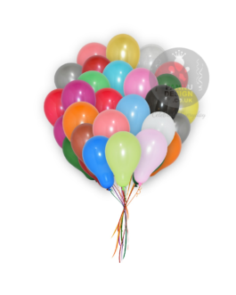 Multi Color Plain Balloons