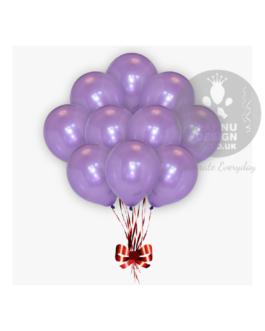 Purple Metallic Balloons