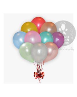 Multicolor Metallic Balloons