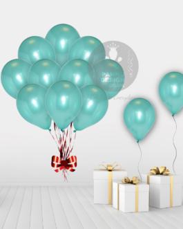 Green Metallic Balloons