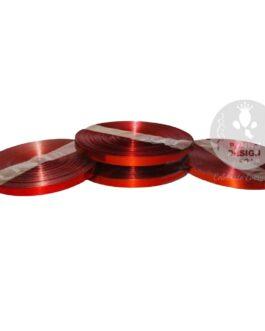 Red Metallic Ribbon