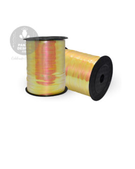 Yellow Iridescent Ribbon