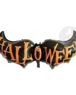 Black Bat Halloween Foil Balloon